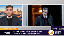 Ex-UK Justice Secretary: PM wants 'a very hard Brexit'