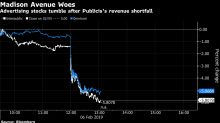 Publicis Tumbles as Revenue Shortfall Jolts Madison Avenue