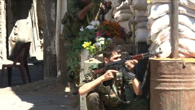 Syrian militia fighters say U.S. strike would be