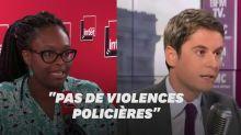 """""""Violences policières"""", l'expression toujours taboue pour l'exécutif"""
