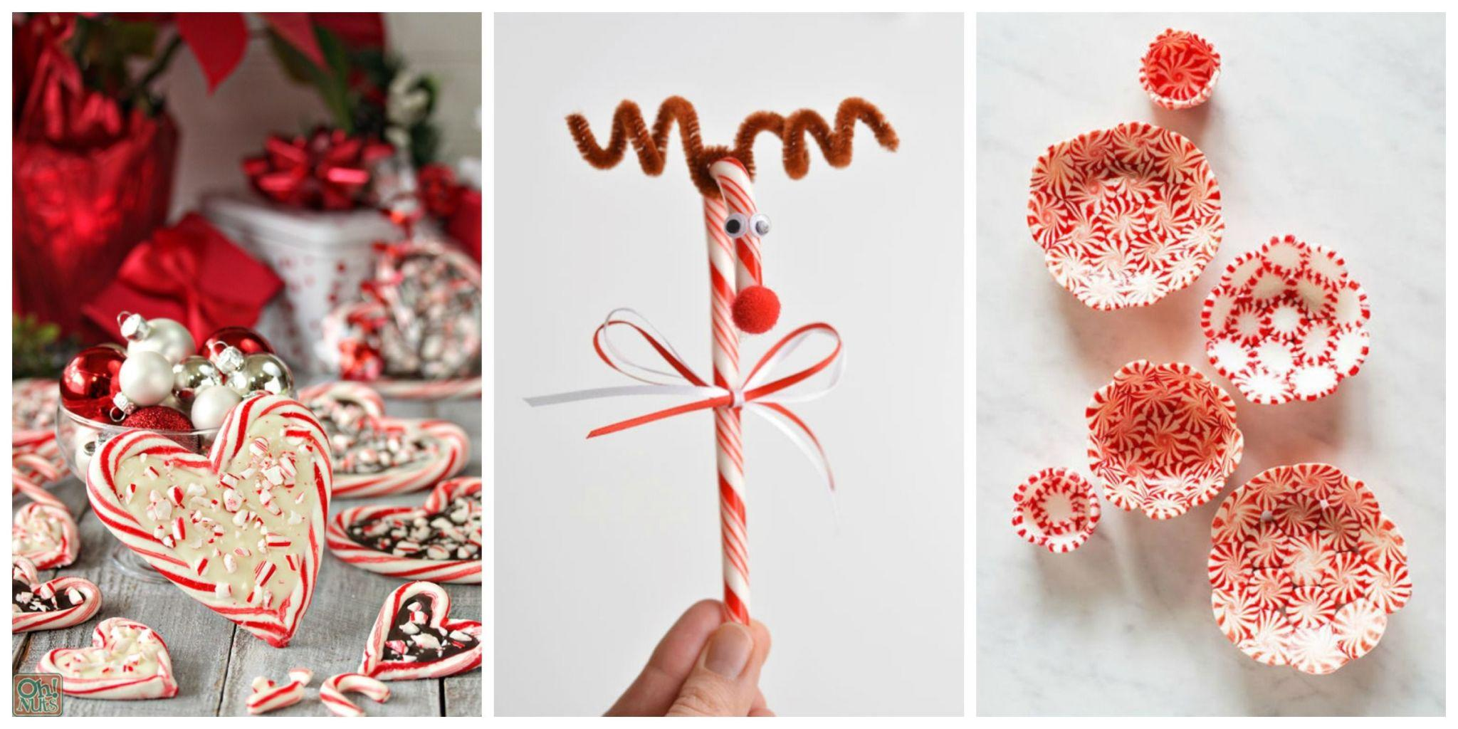 25 candy cane crafts that make gorgeous christmas decoration