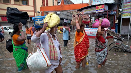 Indian floods wreak havoc