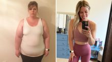 Woman, 31, loses 68kg after being fat shamed by dad