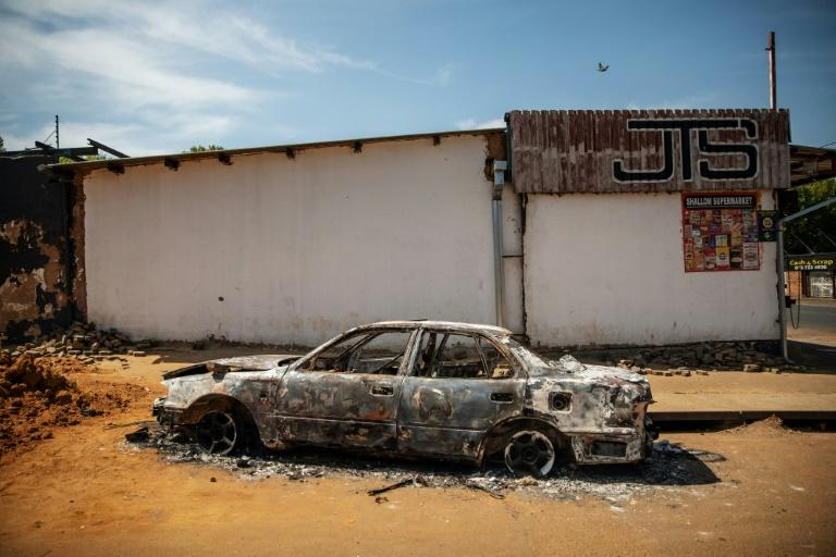 Hundreds of shops were destroyed in anti-foreigner violence in and around Johannesburg last week (AFP Photo/Michele Spatari)