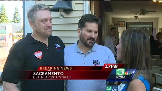 Sacramento couple vows to be first in line to marry