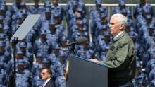 Pence vows 'overwhelming' response to North Korea