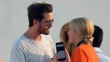 Scott Disick Gets Cozy With Sofia Richie in Cannes Days Two After Making Out With Her Stylist -- See the Pic!