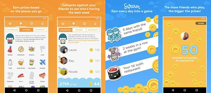Foursquare dusts off its leaderboards for Swarm