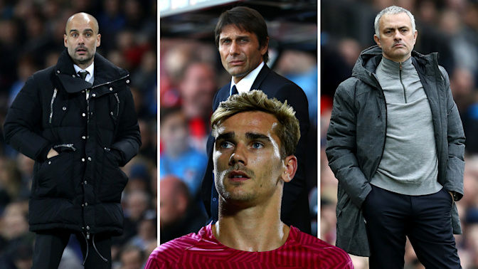 Gossip: Chelsea identify targets, United and City set for transfer war, Griezmann latest