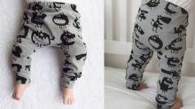 Des leggings « monstres » pour bébés interdits à la garderie après avoir effrayé une petite fille