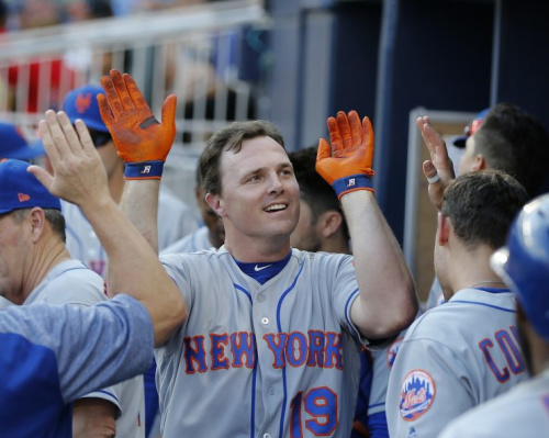 Might Jay Bruce be on the move again? (AP)