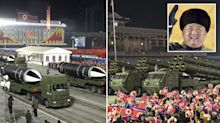 North Korea shows off 'world's most powerful' weapons, state media claims