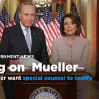 Democratic leaders Pelosi, Schumer call on Mueller to testify publicly over 'partisan' handling of Mueller report