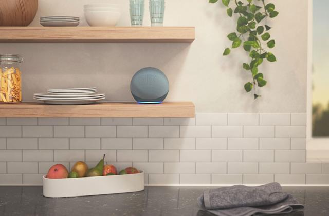 Amazon's latest Echo speaker has an all-new spherical design