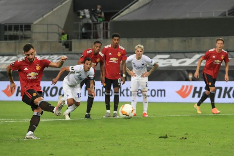 Bruno Fernandes scored the winning goal from the penalty spot as Manchester United needed extra time to overcome FC Copenhagen