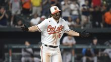 Orioles use 9th-inning walk to beat depleted Marlins 8-7