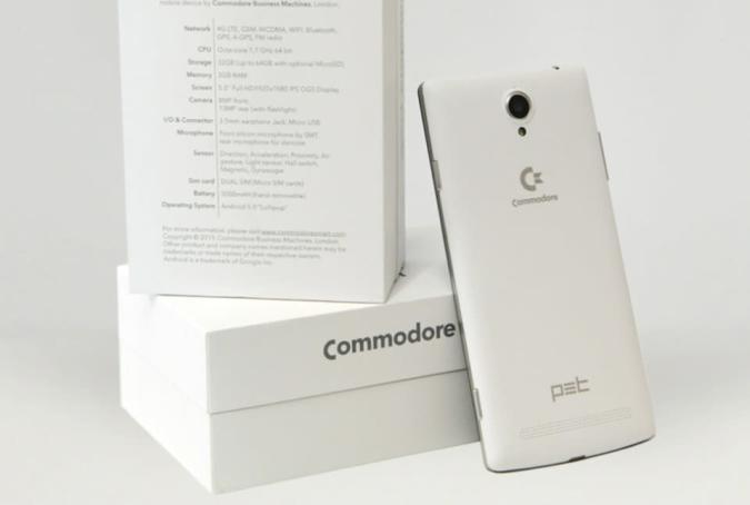 Commodore returns as a 5.5-inch, nostalgia-powered smartphone