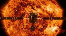 NASA spacecraft on mission to 'touch the sun' sends back first images