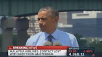 Pres. Obama on MH17: Will offer assistance where we can
