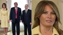 Twitter thinks Melania Trump was 'terrified' as she met Vladimir Putin in Helsinki