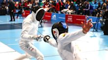 U.S fencers wear pink masks in apparent stand against teammate accused of sexual misconduct
