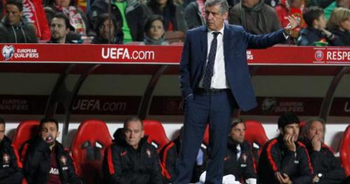 Foot - POR - Fernando Santos (Portugal) : «On aurait pu marquer davantage»
