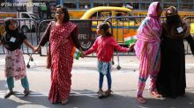 From children to elderly, thousands gather to form 11-km human chain in Kolkata