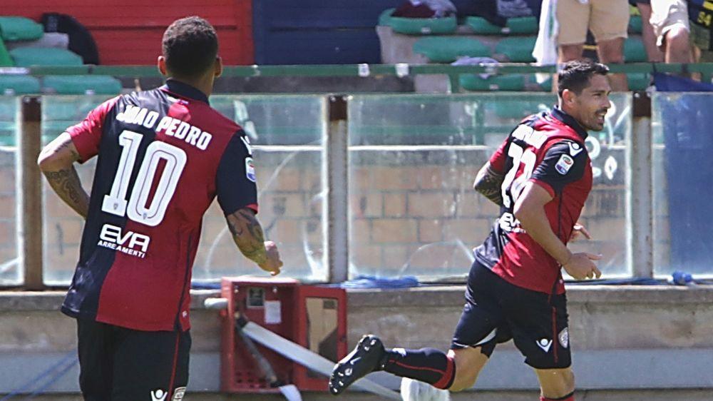 Cagliari-Chievo 4-0: Rossoblù travolgenti con Borriello, Sau e Joao Pedro