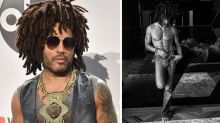 Lenny Kravitz shows off insane abs ahead of 55th birthday
