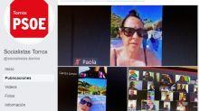 Una concejala del PP de un pueblo de Málaga se defiende tras asistir a un pleno en bikini desde la playa