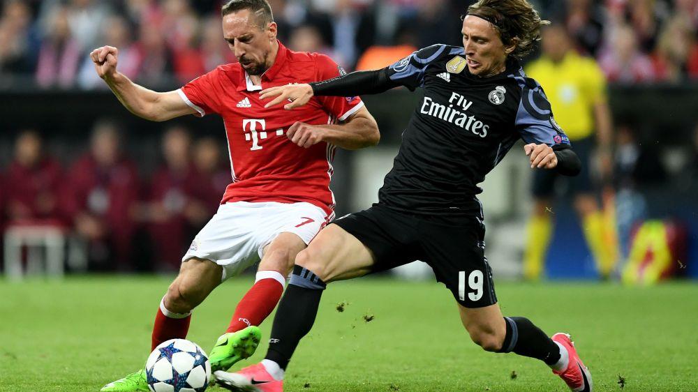 Real Madrid x Bayern Munique: os números, pranchetas e mapas de calor completos