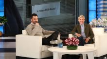 Ellen DeGeneres Surprises Jimmy Kimmel with Tribute to Son Billy — and Brings Him to Tears