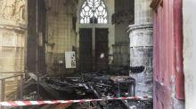 """Incendie de la cathédrale de Nantes : """"L'immense tristesse"""" des représentants de la communauté catholique"""