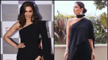Deepika Padukone Vs Kareena Kapoor Khan- Which Diva Rocked The One-Sided Black Outfit Better?