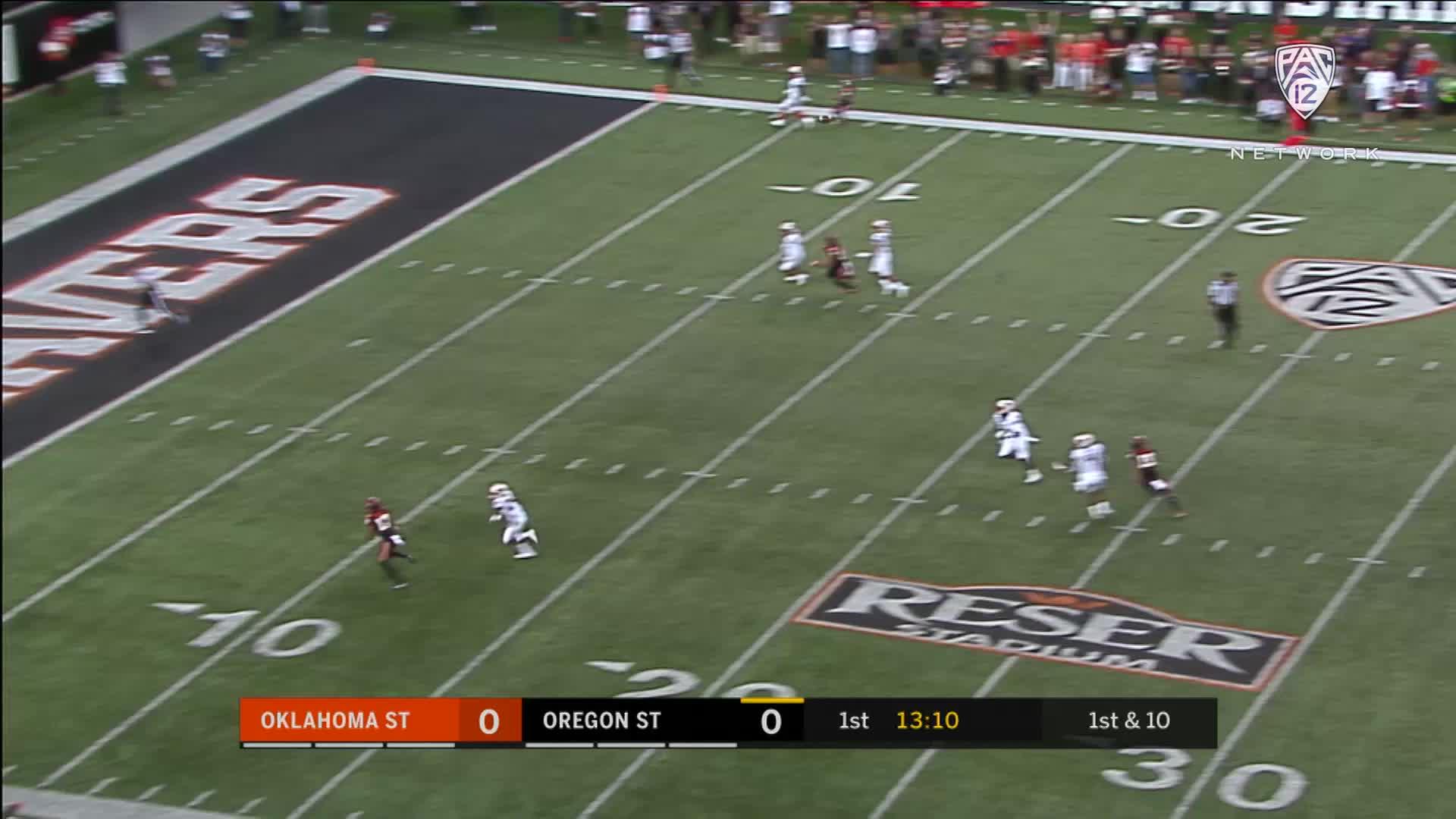 Highlights: Oregon State football falls short against ...