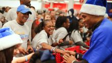 Russell Westbrook and the Thunder help give OKC children a merry Christmas