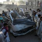 22 pilgrims killed as train rams van in Pakistan