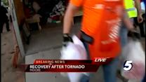 Supplies collected for victims of Monday tornado