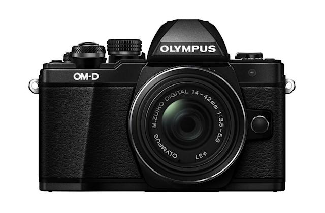 Olympus' E-M10 Mark II camera and kit lens is just $299 at Adorama