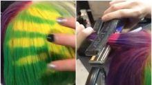 【新片速報】日本熱傳超強染髮技術 遇熱變色好好玩