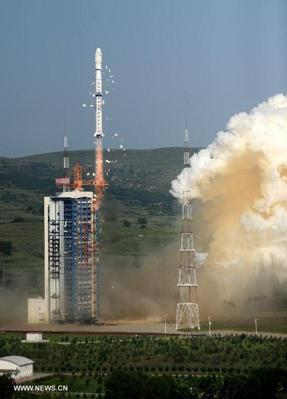 A July 20 liftoff of a Long March-4C carrier rocket carried three satellites, lifting off from the Taiyuan Satellite Launch Center in Taiyuan, capital of north China's Shanxi Province. The Chuangxin-3, Shiyan-7 and Shijian-15 spacecraft are to