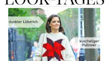 Look des Tages: Katie Holmes im Oversize-Pullover