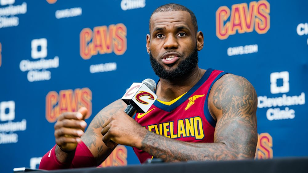 LeBron James on Kyrie Irving exit, Dwyane Wade reunion and 'that guy' Donald Trump