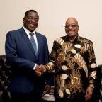 South Africa's Zuma congratulates Zimbabwe's Mnangagwa on swearing-in