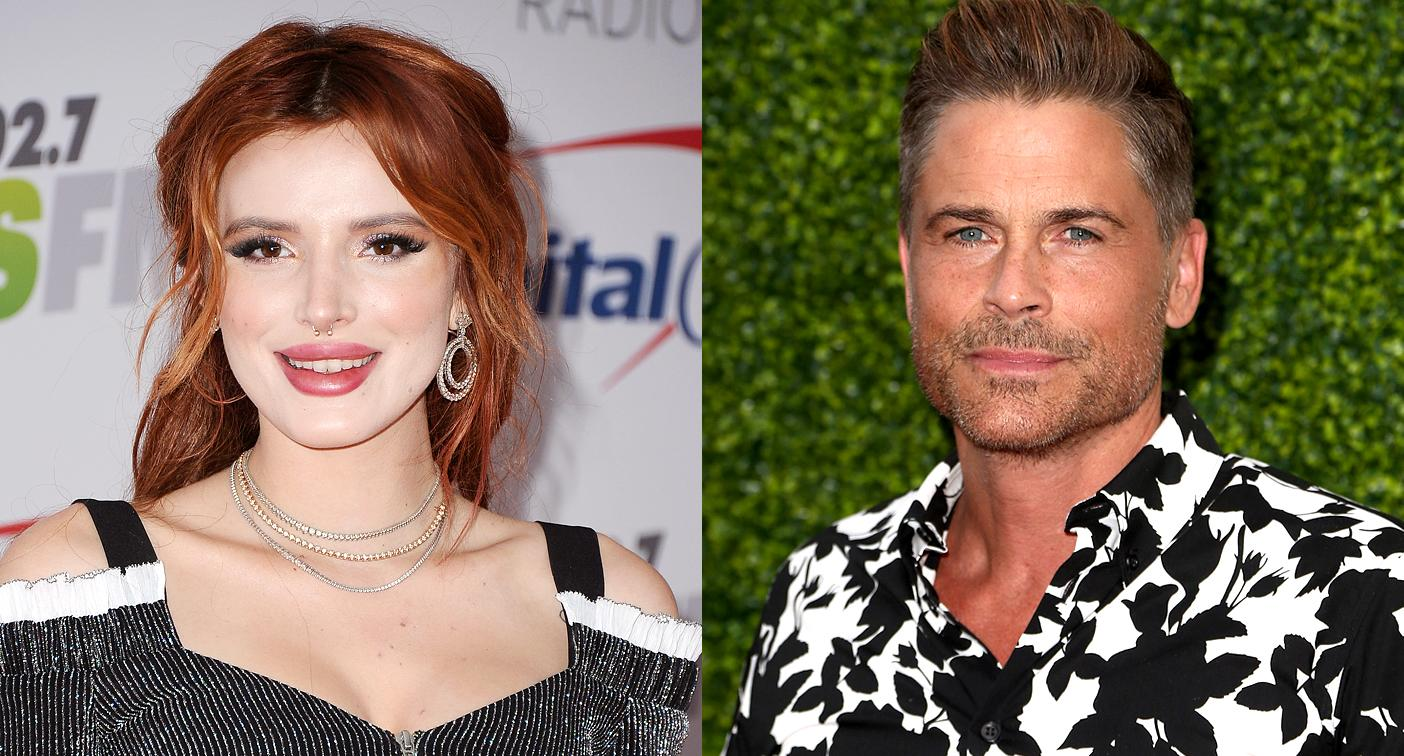 Rob Lowe calls out Bella Thorne over insensitive Montecito mudslides tweet