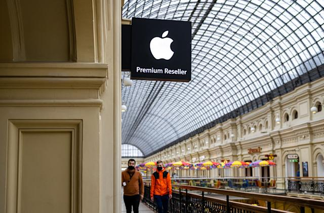Russia fines Apple $12 million for allegedly abusing its App Store dominance