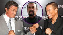 La noche que Jean-Claude Van Damme quiso pegar a Steven Seagal en una fiesta de Sylvester Stallone