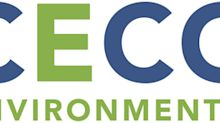 CECO Environmental Announces Third Quarter 2019 Results Conference Call Date