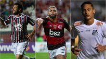 Veja os jogadores com mais gols por clubes de Série A desde 2010