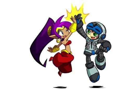 Shantae teams up with Mighty No. 9 dev for 'Half-Genie Hero'